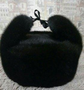 Норковая шапка(русский мех)