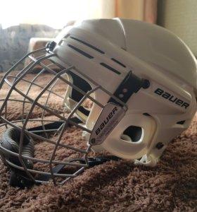 Шлем для начинающих хоккеистов🙄