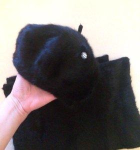 Берет+шарф