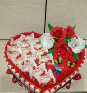 Тортики из киндеров.
