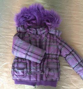 Зимняя куртка 110-116