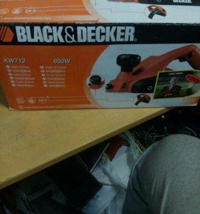 рубанок Black&Decker KW713