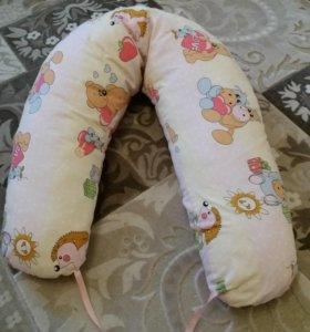 Подушка для беременных плюс 2 наволочки.