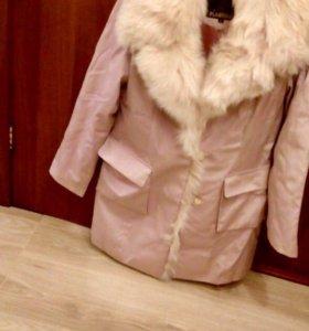 Куртка с мехом, пихора