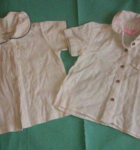 Рубашки на девочку.