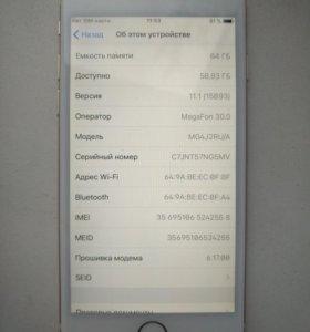 iPhone 6 64gb. Оригинал
