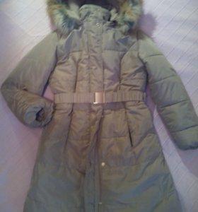 Зимнее пальто на синтепухе