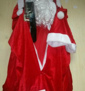костюм Дед Мороза