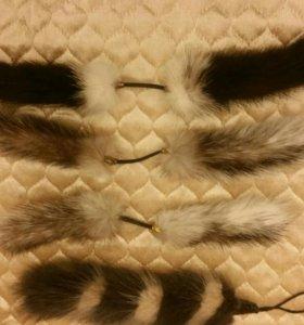 Помпон украшение из норки