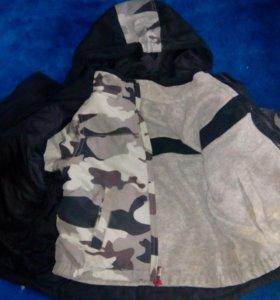 Двойная, двухсторонняя куртка