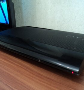 Playstation 3 500Gb super slim + 18 игр