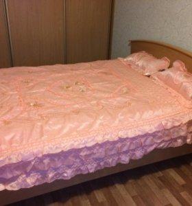 Покрывало на кровать новое