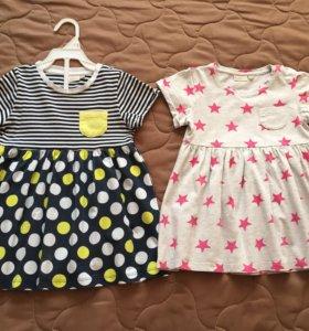 Платья 2шт Baby Go р.86-92