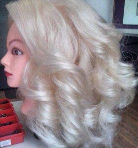 Новая голова кукла с волосами