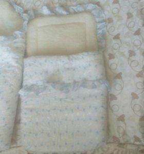 Одеяло + конверт на молнии ( овчина )