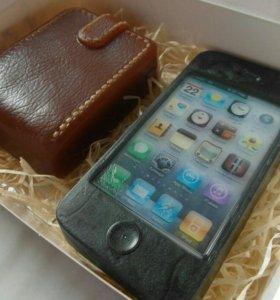 Мыло ручной работы Айфон iPhone