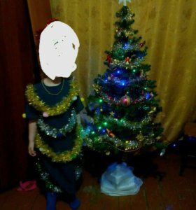 Новогодний костюм ёлка