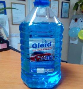 Стеклоомывающая жидкость Gleid Nano Formula -30 5л