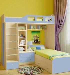Кровать чердак. Мебель для детской