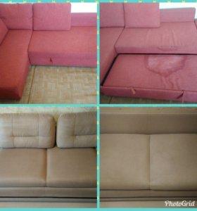 Выездная химчистка ковров и диванов