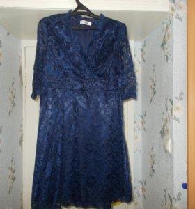 Платье ажурное .48-50 размер.