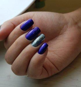 Маникюр, Гель лак , Дизайн , Наращивание ногтей