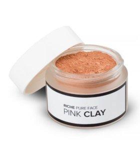 Маска для лица с розовой глиной