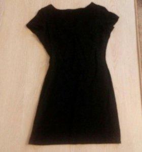Платье 48, подойдет на 44-46, ткань плотная