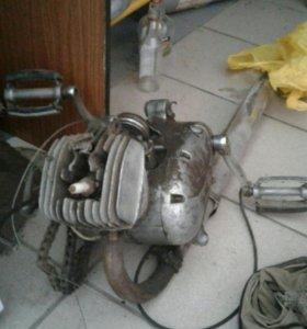 двигатель ш 51 к мопед