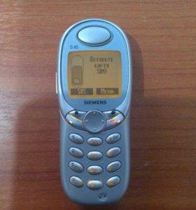 Телефон кнопочный SIEMENS S 45 + Зарядка