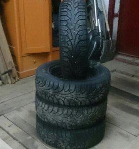 """Зимние колёса """"липучка"""" на рио и солярис R14"""