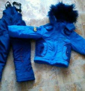 Продам зимний костюм б/у.