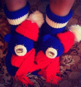 Носочки-сувениры!