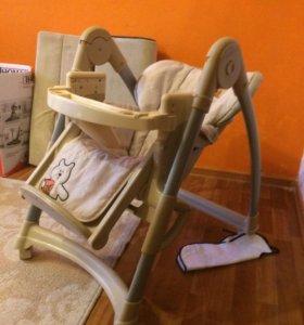 Детский стульчик-шезлонг