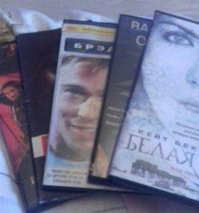 DVD диски(пакетом)