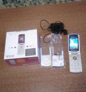 Телефон Sony Ericsson W508