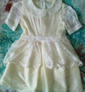 Платье новое 92-98р.