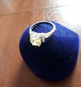 Кольцо серебро 925' с фианитами