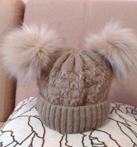 Зимняя шапка 48-50