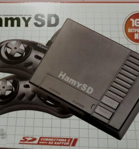 Sega Hamy SD Black (166-in-1)
