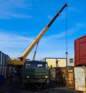 Аренда автокранов 16, 25 тонн, стрела 22, 28 м