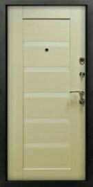 Дверь с металлическая молдинги 3К