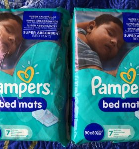 Пеленки Pampers bed mats 90*80