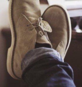 Срочно!!Новые ботинки-дезерты мужские, Италия.торг