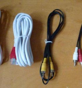 КАБЕЛИ USB, HDMI, RSA и т. д.