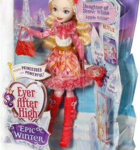 Кукла Ever After High Epic Winter Apple White