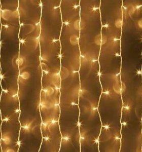 Светодиодная гирлянда LED ШТОРА