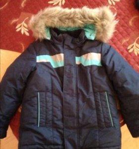 Зимние куртка и комбинезон Р. 116-128