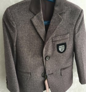 Пиджак велюровый