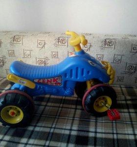 Детский вело-квадрик